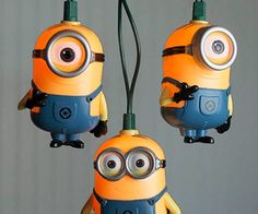 minion string lights.... I want these so bad