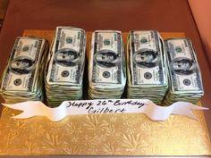 money cake- ahhahahaha!!!! My son DJ would sooooo love this :) Clever!