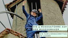 Die 9 Türme in Luzern: Ein Familiennachmittag in Luzern