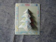 Voici des cartes réalisées grâce à des pliages en origami. les deux premières sont de moi et la 3ème de Joèle.Vous trouverez en dessous le...
