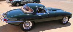 Removable hardtop detail -- Series I Jaguar E Type