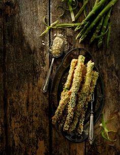 Szparagi pieczone i chrupiące Asparagus, Vegetables, Food, Veggie Food, Vegetable Recipes, Meals, Veggies
