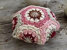 Ravelry: happistix's Crochet Hexagon pincushion