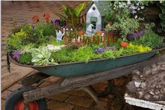 Must find old wheelbarrow