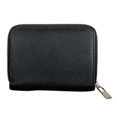 Karla Hanson - Black Women's Wallet - $49.99/each This Ladies Fashion Wallet is made from cow leather with a golden finish, approximately 13 x 2 x 9.5 cm. Presented by  www.ecomcreator.com Fashion Wallet, Ladies Fashion, Womens Fashion, Wallets For Women Leather, Cow Leather, Leather Wallet, Zip Around Wallet, Burgundy, Purple