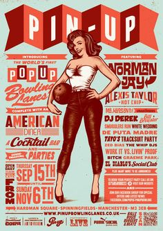 We already talked about the graphic designer Timba Smits and his Timba's Illustration Dept. (Hey Girls, become pregnant today ! – Beautiful retro posters by Timba Smits). Here is a new selection of illustrations, between pin-up and retro posters!