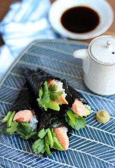 Salmon Ceviche Temaki