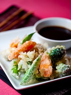 Vegetable Tempura | by teenytinyturkey, via Flickr