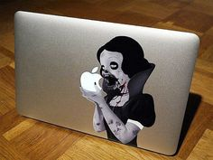 If you want to customize your macbook, you should definitely love these examples below. Check out '' 10 Most Creative Macbook Stickers ''.
