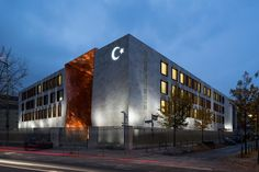 Turkish Embassy in Berlin / NSH Architekten / Berlin, Germany