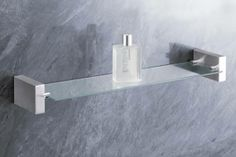 Zack 40195 Fresco Bathroom Shelf -- See this great product. (This is an affiliate link) Bathroom Hardware, Bathroom Fixtures, Bathroom Shelves, Bathroom Storage, Fresco, Modern Bathroom Accessories, Home Design Decor, Design Ideas, Lowes Home Improvements