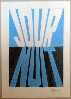 Galerie Piece Unique - Jour Nuit, 2011  pencil on paper_cm 29,6 x 20,4   (BOU 015)