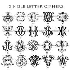 Tattoo Lettering Styles, Graffiti Lettering Fonts, Lettering Design, Hand Lettering, Logo Design, Monogram Design, Monogram Fonts, Monogram Letters, Monogram Initials