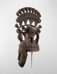 Igbo  Nigeria        Maiden Spirit Mask (Agbogho Mmuo), Late 19th/early 20th century              Wood and pigment