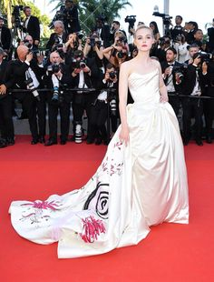 The Best Red Carpet Looks From The 2017 Cannes Film Festival... we love Elle Fannings Unicorn dress...