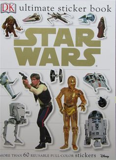 "特惠促销DK贴纸书 ""Star Wars"" Classic Ultimate Sticker Book"