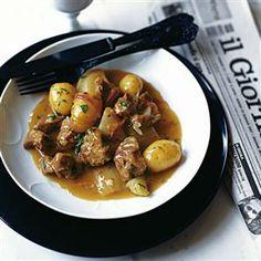 Quick lamb, orange and fennel spring stew recipe