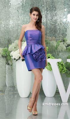http://www.ikmdresses.com/Strapless-Ruched-Short-Mini-Taffeta-Sheath-Column-Homecoming-Dress-p20060