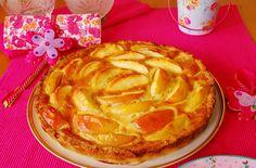Tarta francesa de manzana.