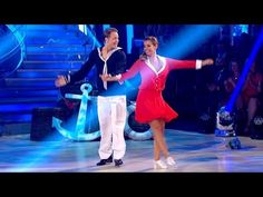 Louise Redknapp & Kevin Clifton Jive to 'Jump, Jive And Wail' - Strictly Come Dancing 2016: Week 1 - YouTube