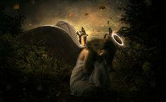 How to Create a Beautiful and Emotional Angel Photo Manipulation in Photoshop - http://wp.me/p4R2sX-6QW