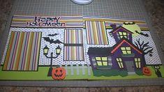 Happy Halloween Scrapbook Layout, Episode 159 - YouTube