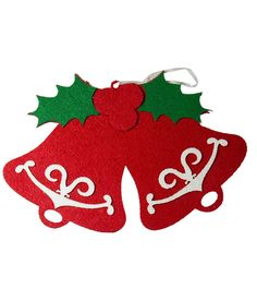 Shop SGS Christmas Wall Hanging Decoration Foam Cloth Double Bell online at lowest price in india and purchase various collections of Christmas Tree & Decoration in SGS brand at grabmore.in the best online shopping store in india Christmas Wall Hangings, Christmas Tree Decorations, Online Shopping Stores, Drink Sleeves, Amp, India, Collections, Clothes, Products
