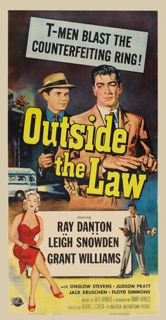 Outside the Law (Universal International, 1956)