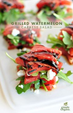 Grilled watermelon t