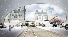 Henning-Larsen-Architects_Vinge-Station_Train