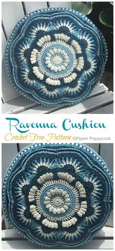 Mandala Cushion Crochet Free Patterns – Crochet & Knitting You are in the right place about Crochet paso a paso Here we offer you the. Crochet Cushion Pattern Free, Free Mandala Crochet Patterns, Crochet Pillow Cases, Crochet Circles, Crochet Cushions, Free Crochet, Knitting Patterns, Knit Crochet, Free Pattern