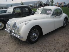 Jaguar 120 at Sywell Classic Show 13
