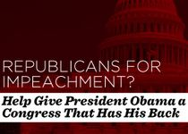 Tell GOP in Congress to quit the bogus impeach ment posturing and get to work for the People!