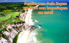 Resort promocional em Porto Seguro com aéreo em 2016 #resort #pacotes #portoseguro #viagem #2016