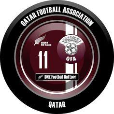 DNZ Football Buttons: Seleção do Qatar