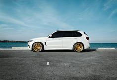 BMW F85 X5M Alpine White