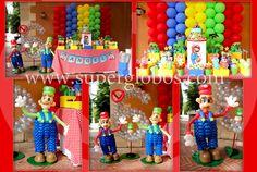 Mario Bros Theme Balloon Decor /Decoración con Globos Tema Mario Bros