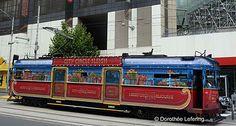 Christmas tram, Melbourne Victoria