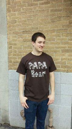 Men's T-shirt brown- Short sleeve - spring style fashion @ Black Bear Trading Asheville N.C.