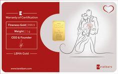 Wedding Romantica - the new Karatbars gold card