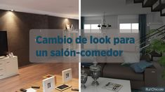 Cambio de look para un salón-comedor; #Proyectodedecoración #interiorismo #projects #3D http://blgs.co/sY65Cr