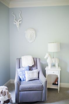 Perfect Shades of Blue in the #nursery