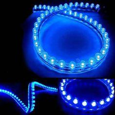 Fita De Led Neon 96cm Azul A Prova Dágua - R$ 29,00