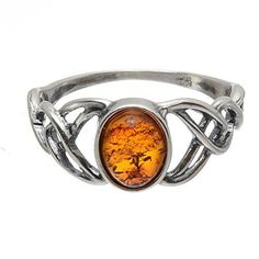 Celtic Knot Ring, Celtic Wedding Rings, Celtic Knots, Pierre Ambre, Jewelry Rings, Silver Jewelry, Jewellery, Glass Jewelry, Diamond Jewelry