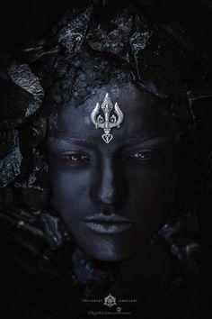Trident Pendant 'Trishul', Shiva With Trident, Shiva Pendant, Hindu Pendant, Protection Shiva Parvati Images, Mahakal Shiva, Shiva Art, Durga Kali, Rudra Shiva, Kali Mata, Baphomet, Trishul, Lord Shiva Painting