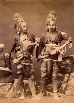 #Zeybeks were irregular militia and guerrilla fighters living in the Aegean Region of the Ottoman Empire from late 17th to early 20th centuries. Photo a
