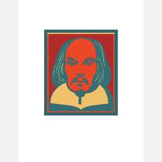 Happy birthday, Shakespeare!   Print by Milton Glaser