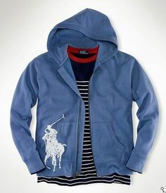 Polo Ralph Lauren Patriotic Big Pony Hoodie Men