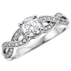 infinity ring. This right here. My dream engagement/wedding ring.