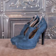 SOPHISTIC - blue suede  #altiebassi #autumn #winter #italianshoes